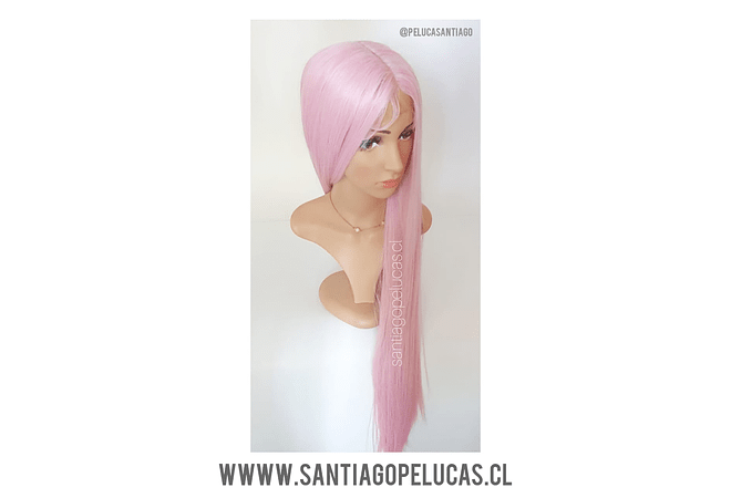 SB 0751 LACE FRONT EXTRA LARGA 1 MT LISA ROSA