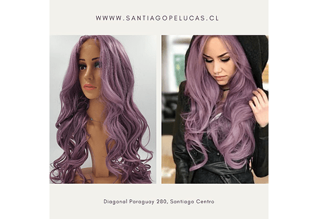 SB 0863 LACE FRONTAL LARGA ONDAS IRISADO LILA