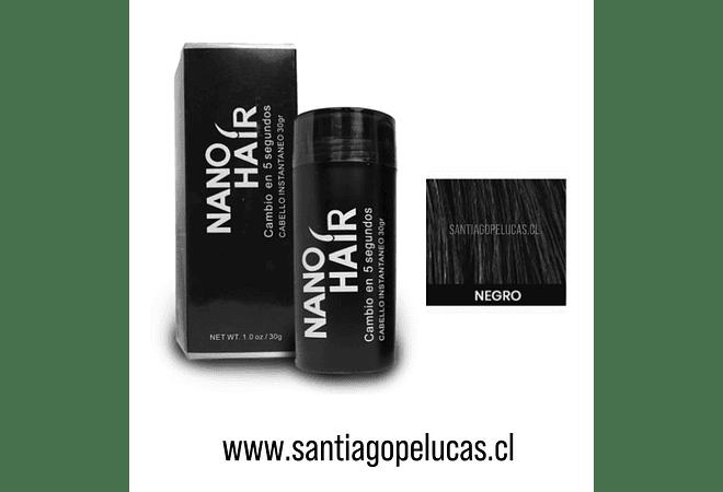 SB 0875 NANO HAIR FIBRA CAPILAR - NEGRO