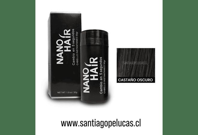 SB 0876 NANO HAIR FIBRA CAPILAR - CASTAÑO OSCURO