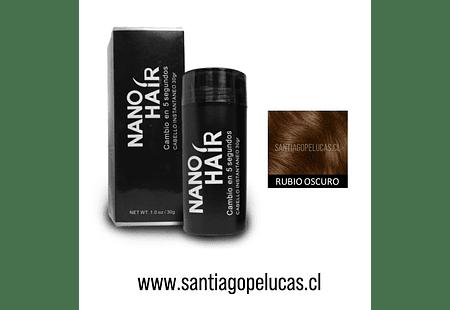 SB 0879 NANO HAIR FIBRA CAPILAR - RUBIO OSCURO