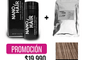 PROMO NANO HAIR + RECARGA - CASTAÑO CLARO