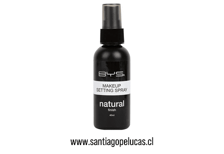 BYS FIJADOR DE MAQUILLAJE - NATURAL FINISH