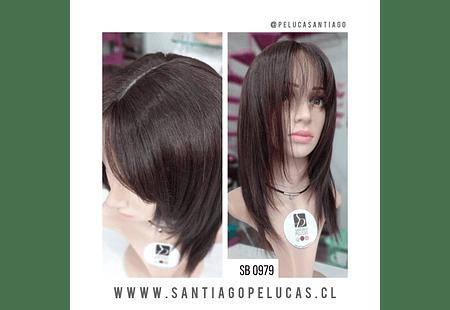 SB 0979 NATURAL ANTLIA MELENA LARGA DESFLECADA CASTAÑO