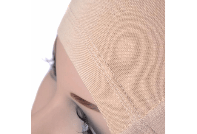 SB 0997 WIG CAP BAMBU ANTIBACTERIAL BEIGE