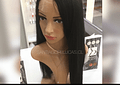 LACE FRONT LISA NEGRO
