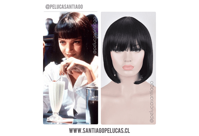 Pulp Fiction Melena negra