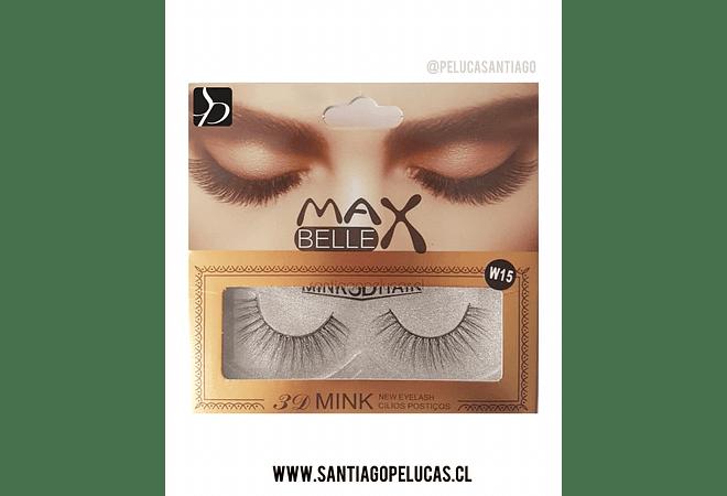 Pestañas Postizas Santiagopelucas Max Belle 3D