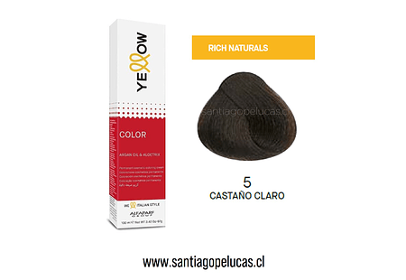 YELLOW 5 CASTAÑO CLARO