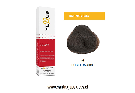 YELLOW 6 RUBIO OSCURO