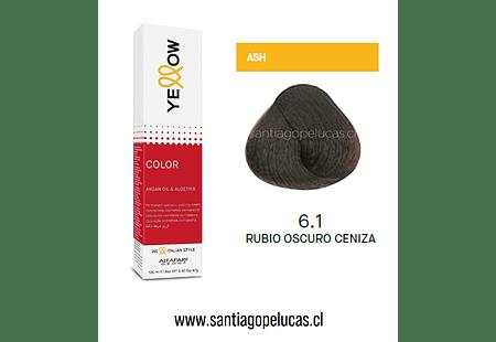 YELLOW 6.1 RUBIO OSCURO CENIZA