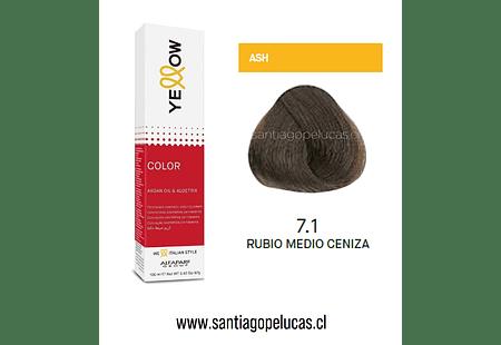 YELLOW 7.1 RUBIO MEDIO CENIZA
