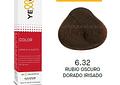 YELLOW 6.32 RUBIO OSCURO DORADO IRISADO