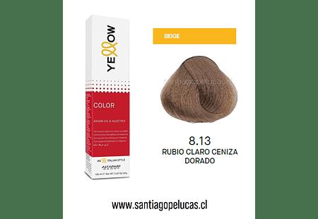 YELLOW 8.13 RUBIO CLARO CENIZA DORADO