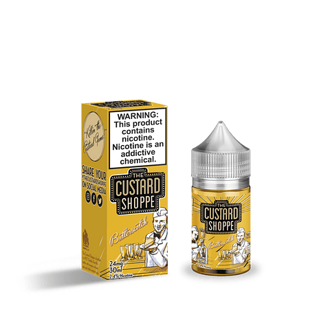The Custard Shoppe 30ml Salt