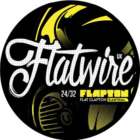 Alambre FlatwireUK Flat Clapton 24/32 Kanthal 10ft
