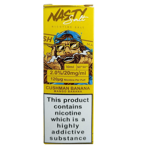 Nasty Juice Cushman Series Salt Nic 30ml