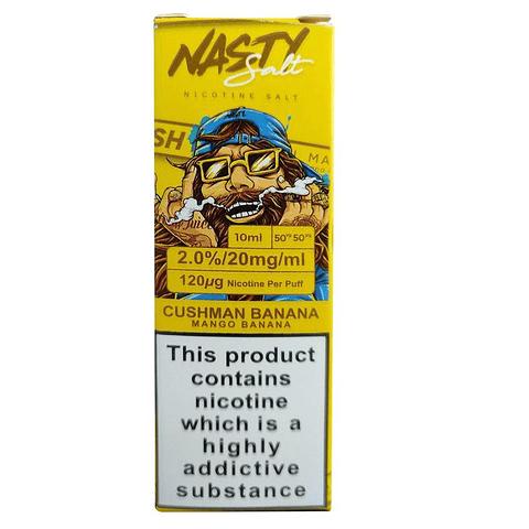 Nasty Juice Cushman Series Salt Nic 30ml