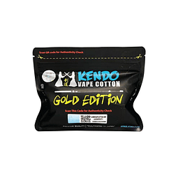 Kendo Vape Cotton Gold Edition