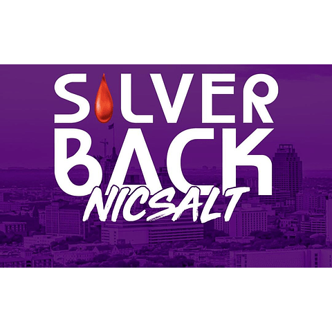 Silver Back Salt 30ml