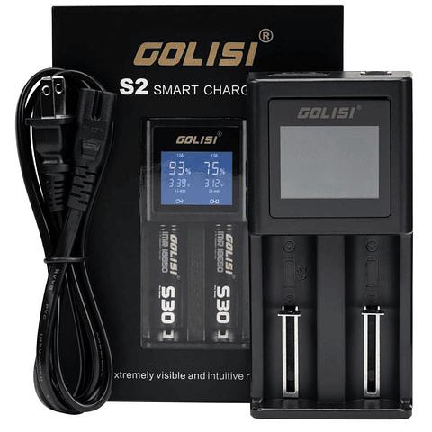 Cargador GOLISI S2 2.0A Smart Charger LCD