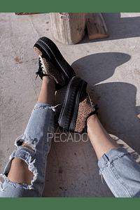 PALERMO BLACK LEOPARD