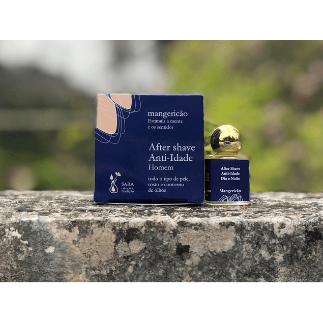 After-shave anti-idade