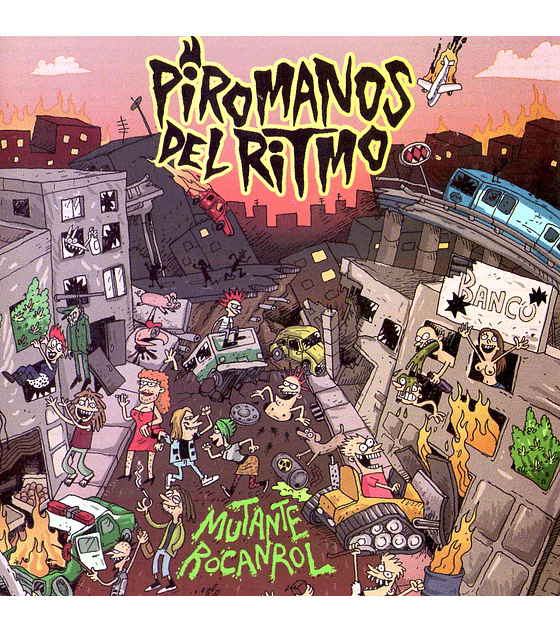 Piromanos Del Ritmo · Mutante Rocanrol CD