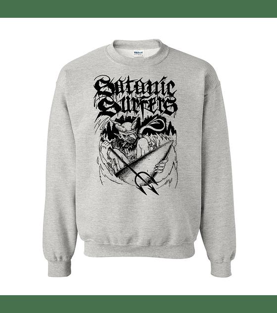 Polerón Polo Serigrafía · Satanic Surfers