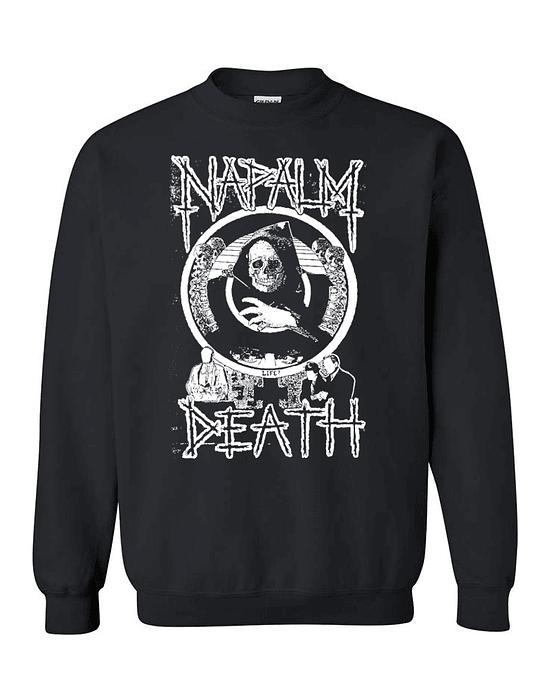 Polerón Polo Serigrafía · Napalm Death
