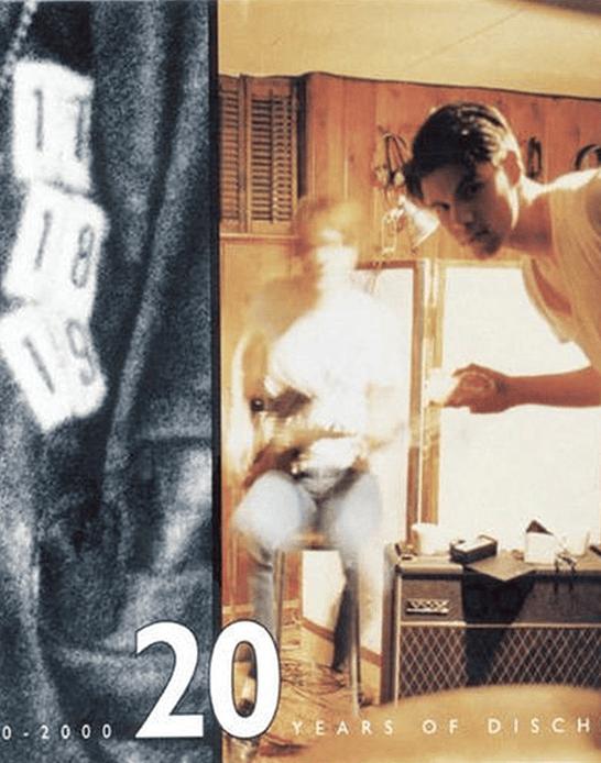 Box Set 20 Years of Dischord CDx3 + Libro