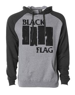 Poleron Black Flag · Modelo Raglan Independent