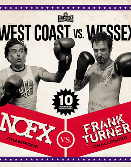 Nofx & Frank Turner West Coast Vs. Wessex (Split) LP 12''