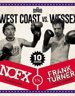 Nofx & Frank Turner West Coast Vs. Wessex (Split) LP 12''