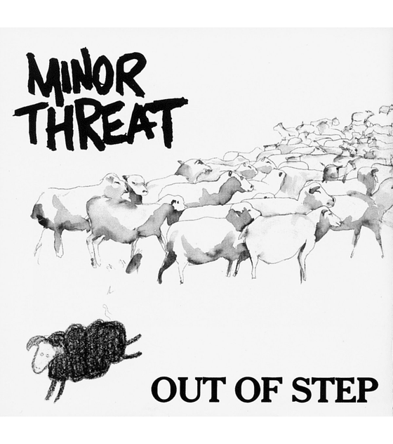 Minor Threat · Out Of Step EP 12''