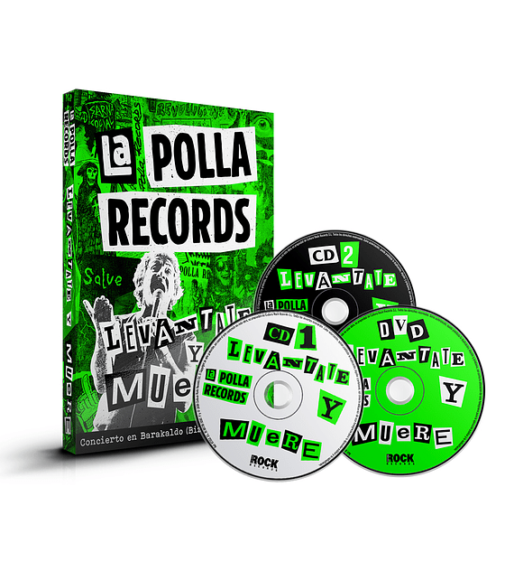 La Polla Records · Levántate y Muere CDX2+DVD