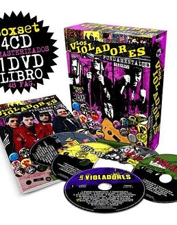Los Violadores Fundamentales 81-87 Box Set CD+DVD
