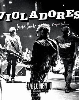 Los Violadores · Luna Punk: Rompan todo...Vol 1 LP