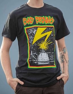 Polera Oficial Bad Brains Capitol (Importada)