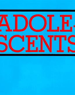 Adolescents · s/t LP (Vinilo rojo)