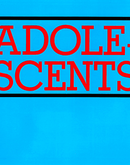 Adolescents · s/t LP (Vinilo rojo)