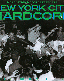 New York City Hardcore · V/a The Way It Is LP + Postal NYHC De Regalo