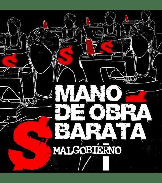 Malgobierno · Mano De Obra Barata CD