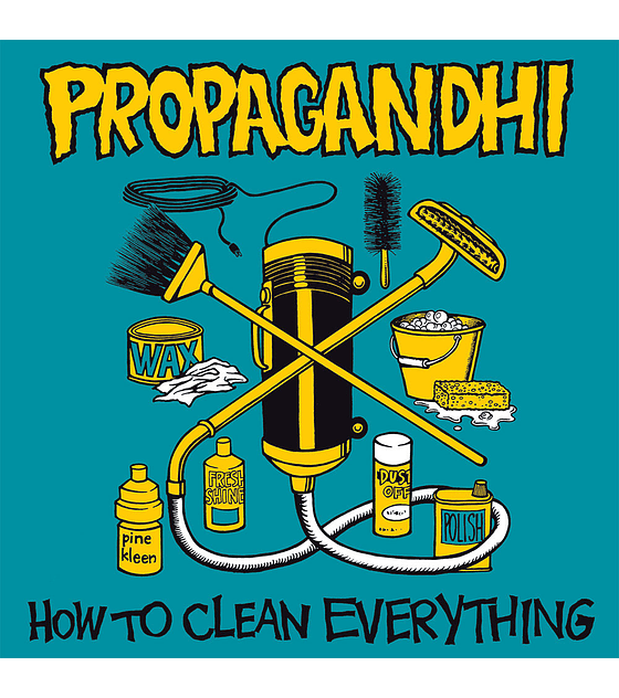 Propagandhi · How To Clean Everything , 20Th Anniversary CD