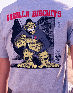 Polera Oficial Gorilla Biscuits · Hold Your Ground (Importada)