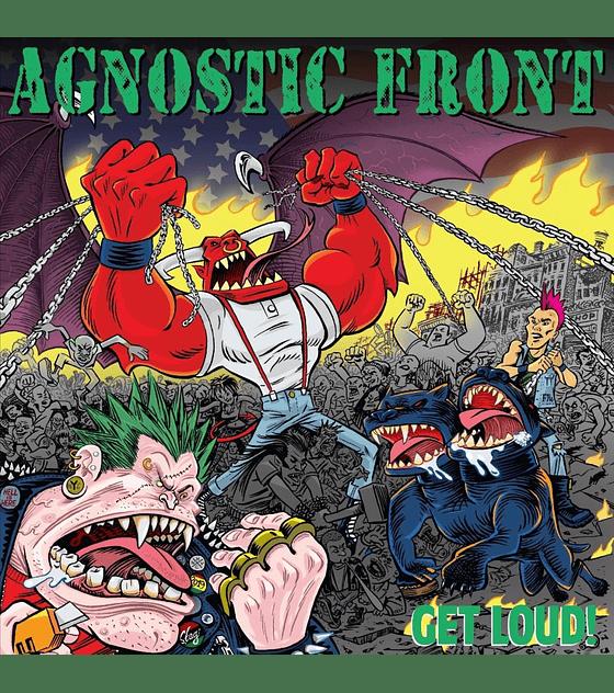 Agnostic Front · Get Loud! LP 12''