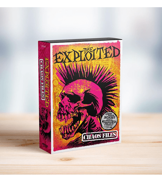 The Exploited · Box Set Deluxe (3 CD + 1 DVD + Book) + Poster