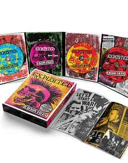 The Exploited · Box Set Deluxe (3 CD + 1 DVD + Book) + Polera y Poster