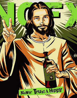 Nofx · Never Trust A Hippy EP 10''