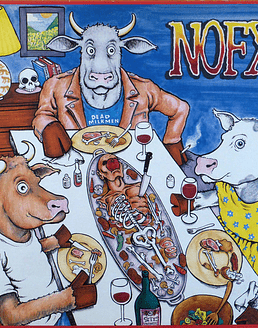Nofx · Liberal Animation LP 12''